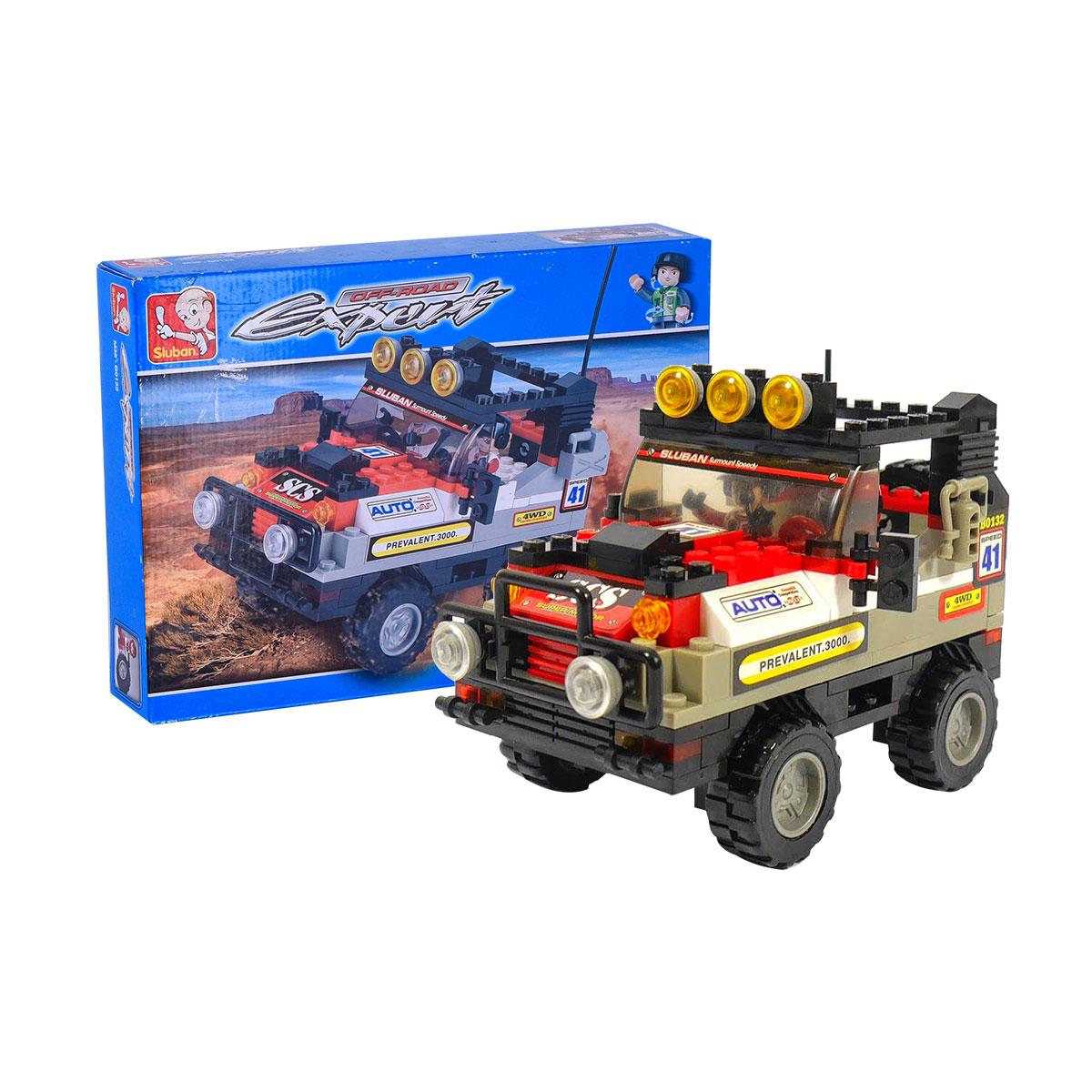 لعبه تركيبه سيارة سباق برية  M38-B0132
