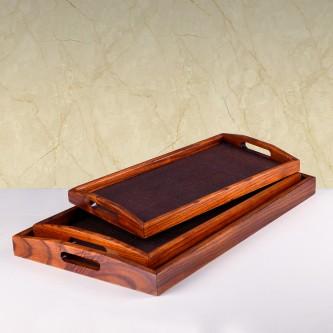 طقم طفرية تقديم خشب - 3 قطعه - رقم MY35011