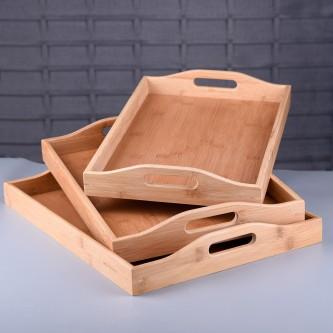 طقم طفرية تقديم خشب - 3 قطعه - رقم MY35006