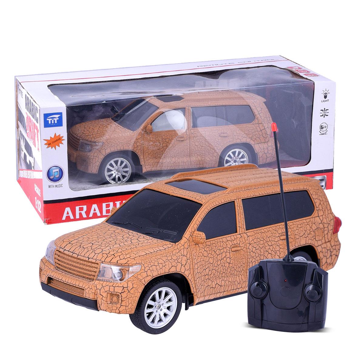 لعبة سيارة اطفال تعمل بالريموت كنترول ,الوان متعددة, رقم SC-QX3688-F7C