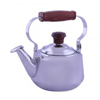 ابريق شاي استانلس استيل مع مصفاه ,مقاس1 لتر
