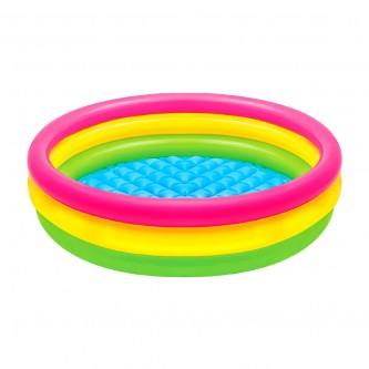 بركة سباحة دائري ملون للاطفال  موديل 58924NP