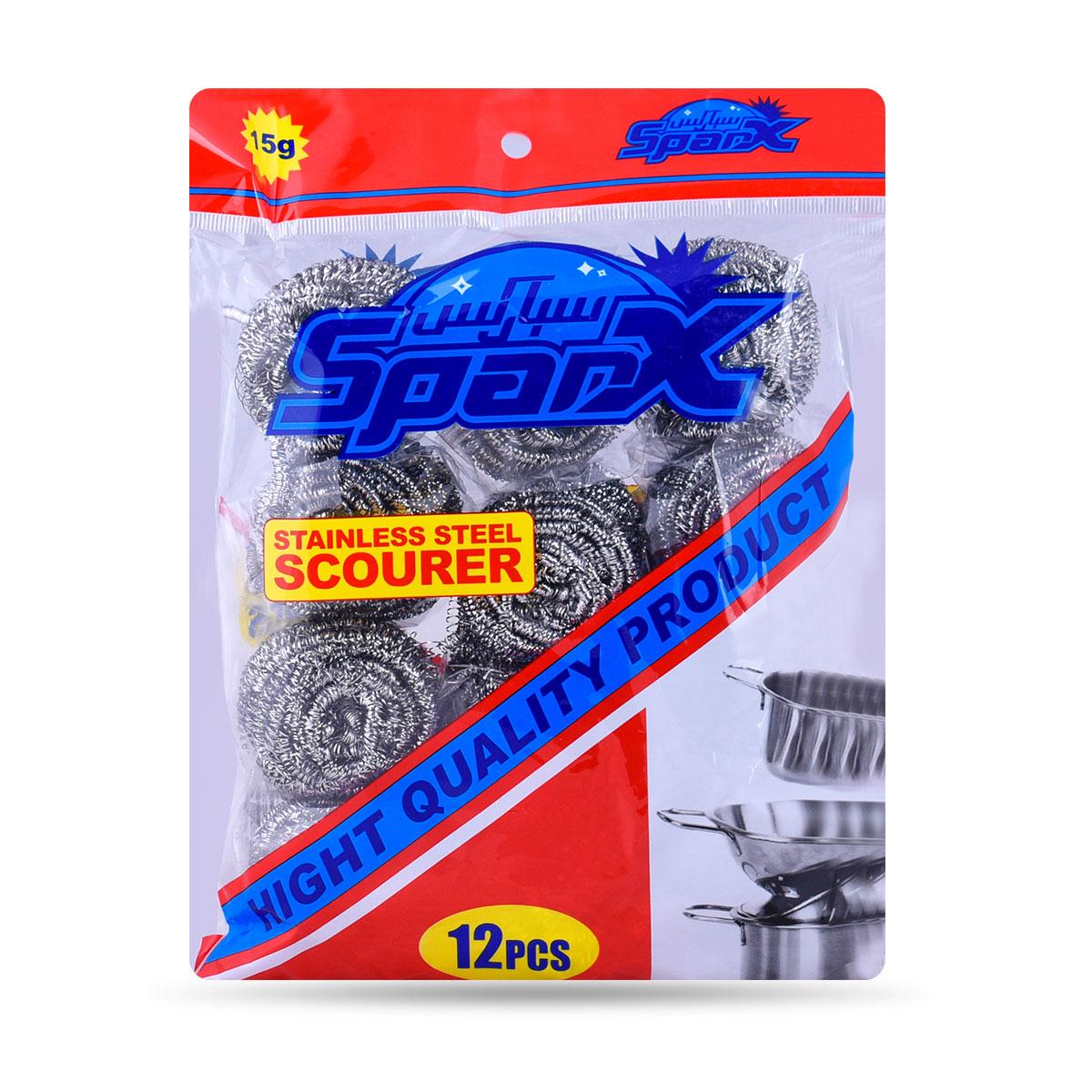 سلك تنظيف ناعم - SPARX - ربطة 12 قطعة - رقم YM-19536