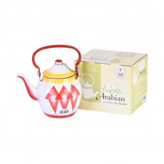 ابريق شاي غضار اندونيسي - مقاس 0.6 لتر - من السيف