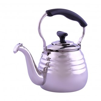 ابريق شاي صياح حلزوني استانلس استيل حجم 1 لتر