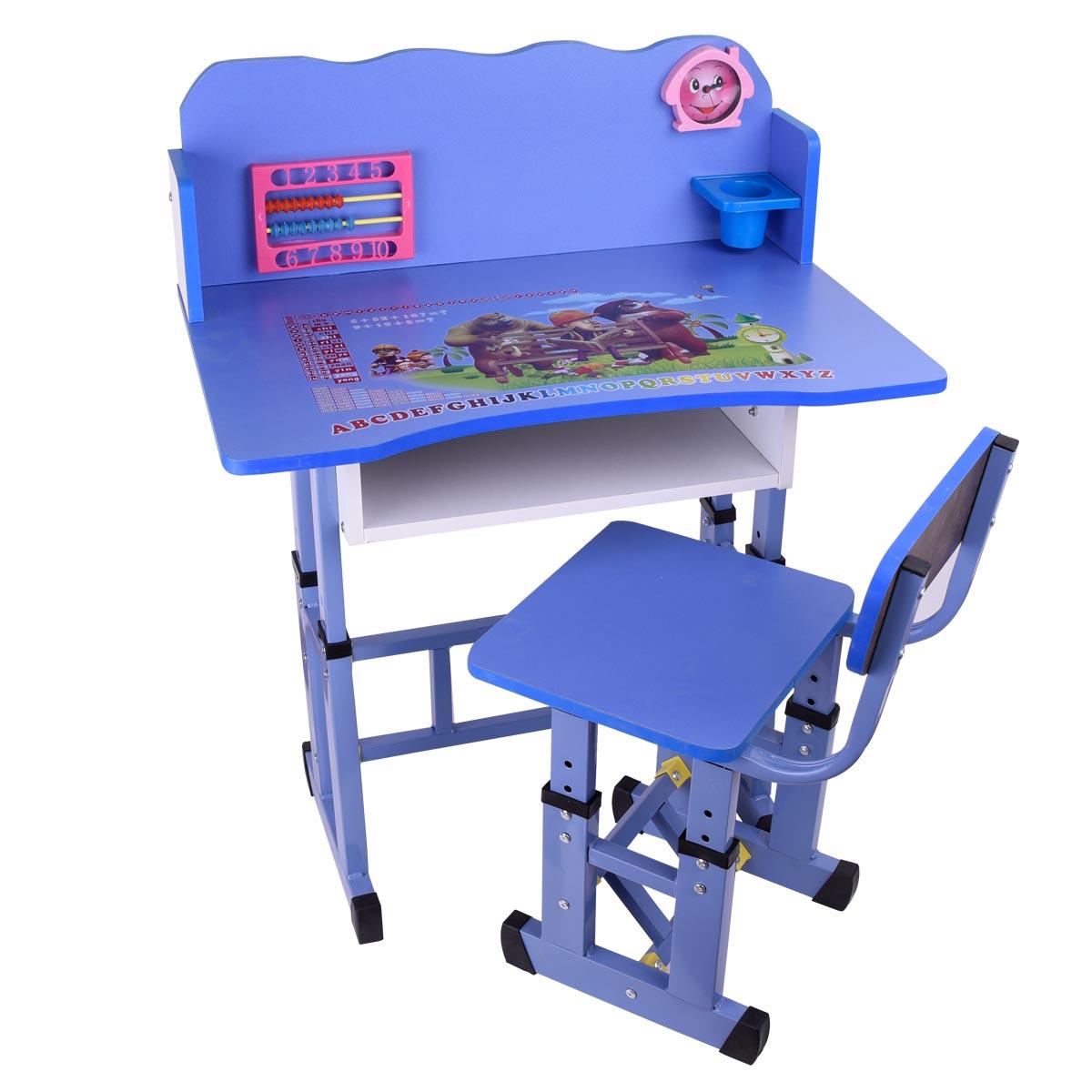 طاولة اطفال مدرسية خشب + كرسي , رقم B20