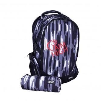 حقيبة ظهر مدرسية روكو + مقلمه - موديل 910j01