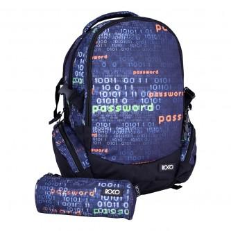حقيبة ظهر مدرسية روكو + مقلمه - موديل fhd99i01