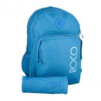 حقيبة ظهر مدرسية روكو + مقلمه - موديل rgfb98h07