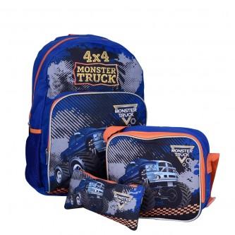 حقيبة ظهر مدرسية , وملحقاتها , 1 * 3  موديل TV129