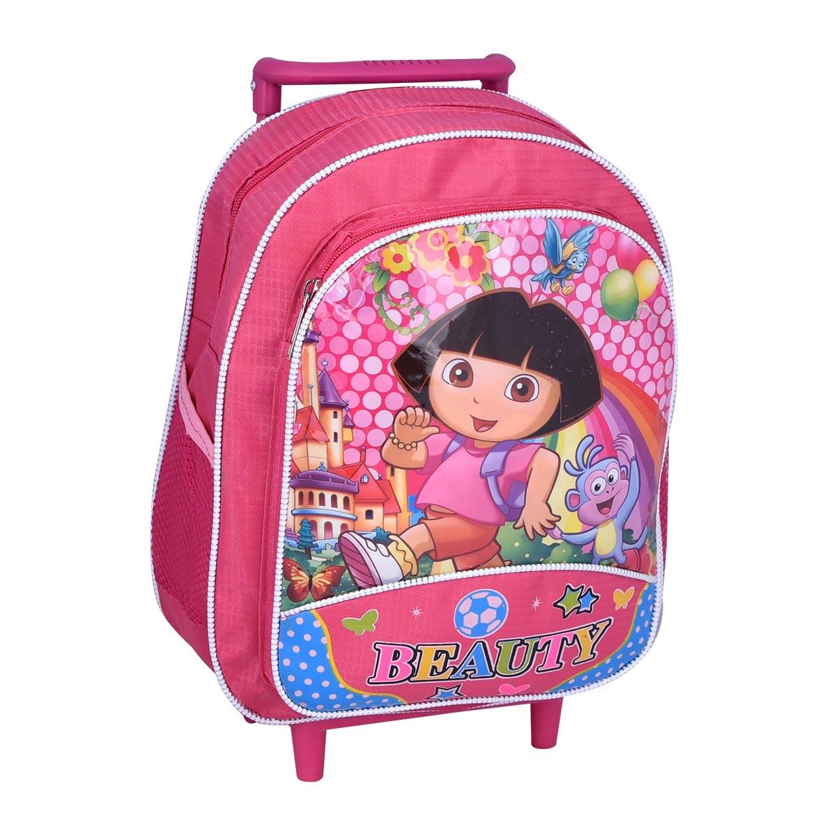 حقيبة ظهر شخصيات مدرسية بعجلات لاطفال الروضة - رقم YM-20600