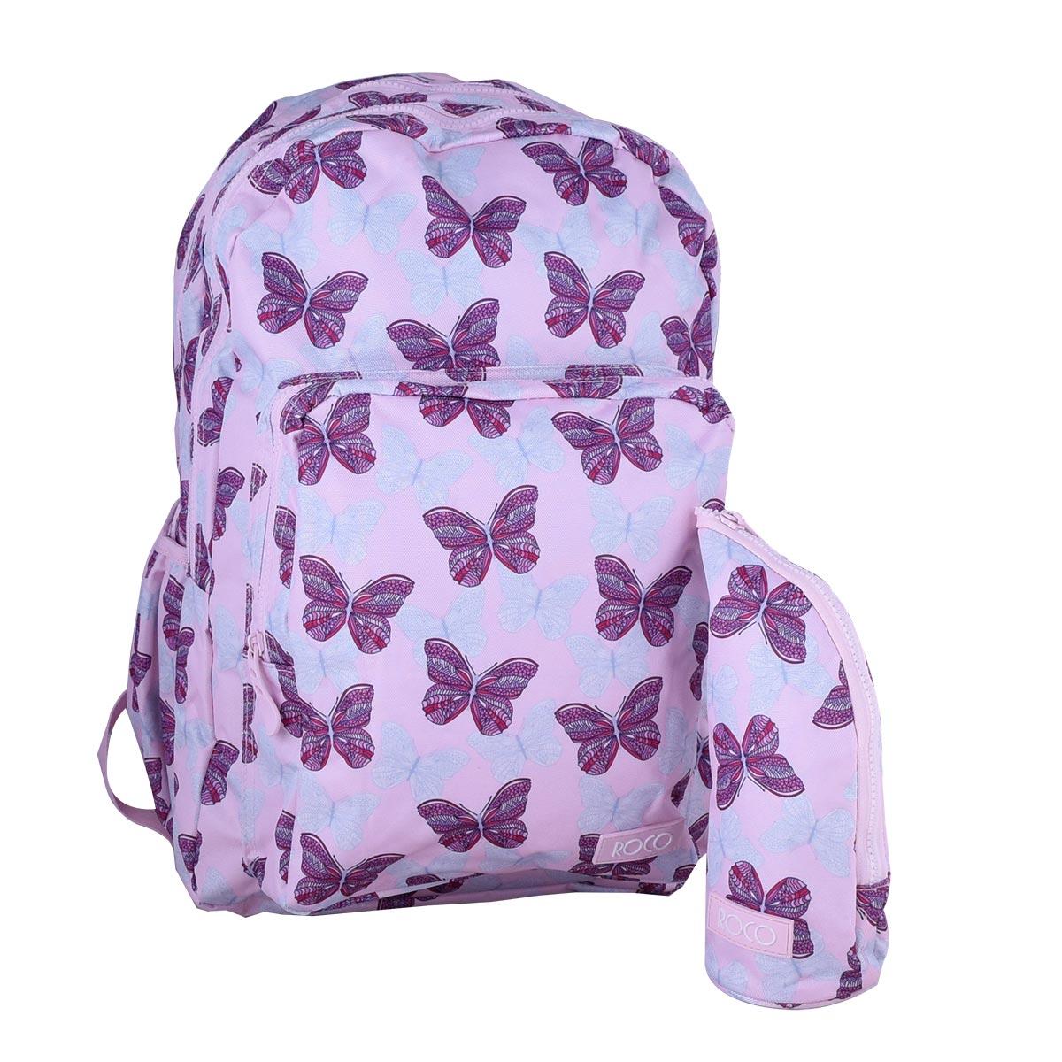 حقيبة ظهر مدرسية روكو + مقلمه - موديل FP910J07