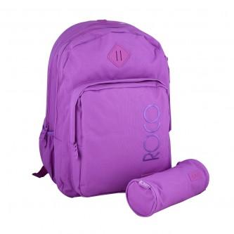 حقيبة ظهر مدرسية روكو + مقلمه - موديل FB94D07