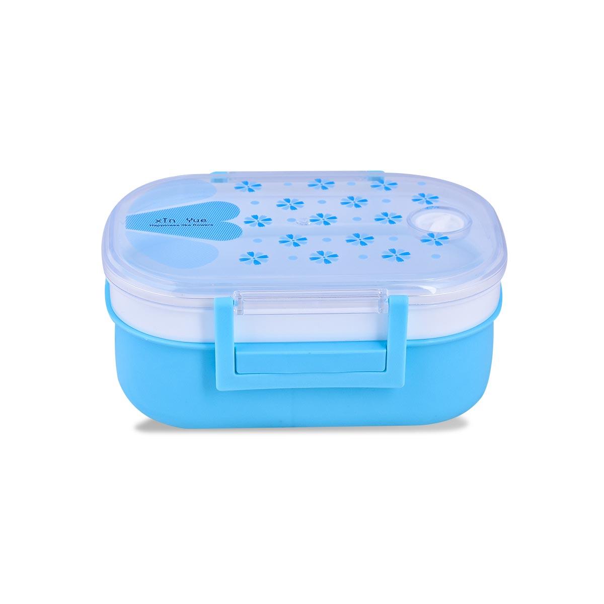 علبة تغذية وحافظة طعام بلاستيك الوان متعددة رقم 4980-082