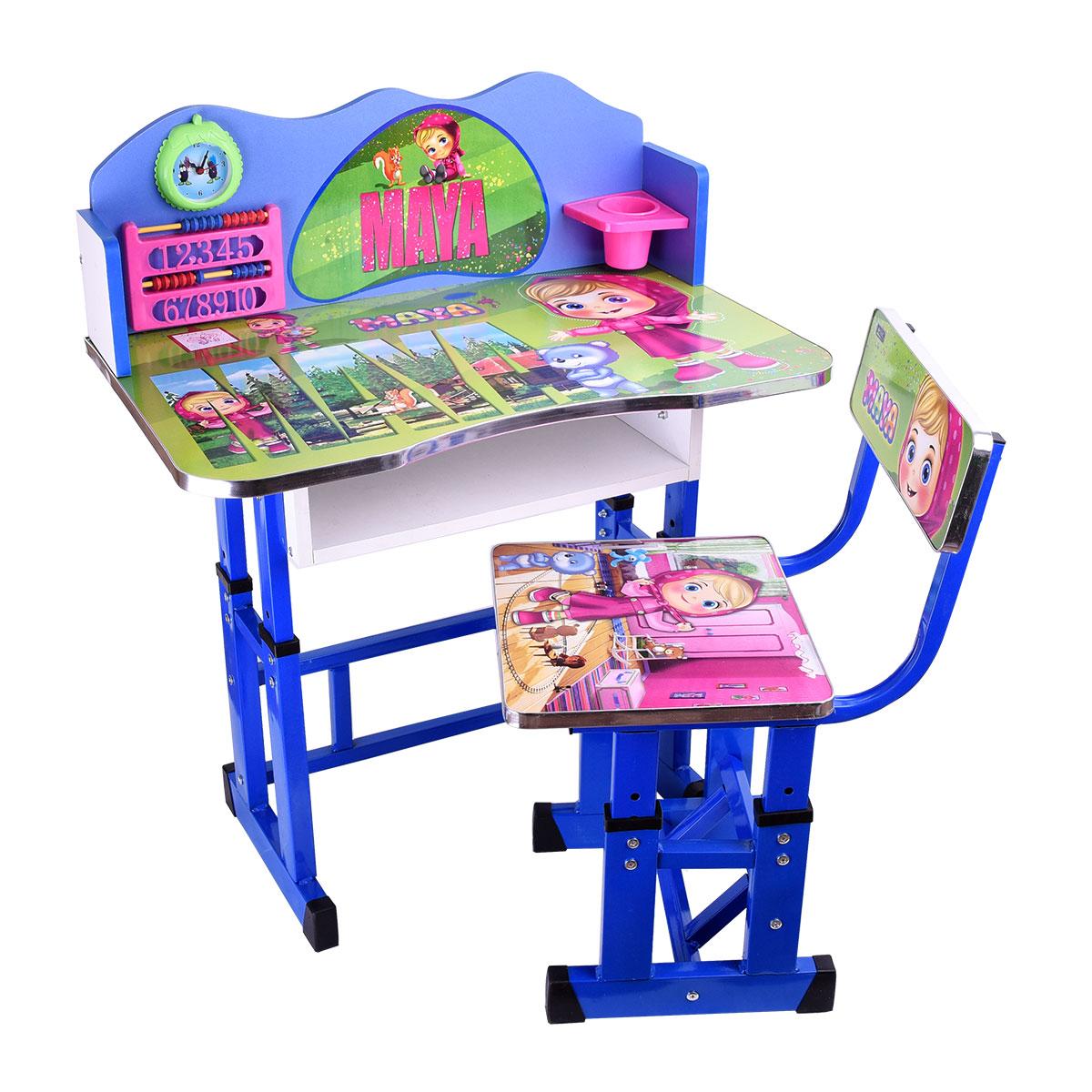 طاولة اطفال مدرسية خشب + كرسي , رقم 4042-037