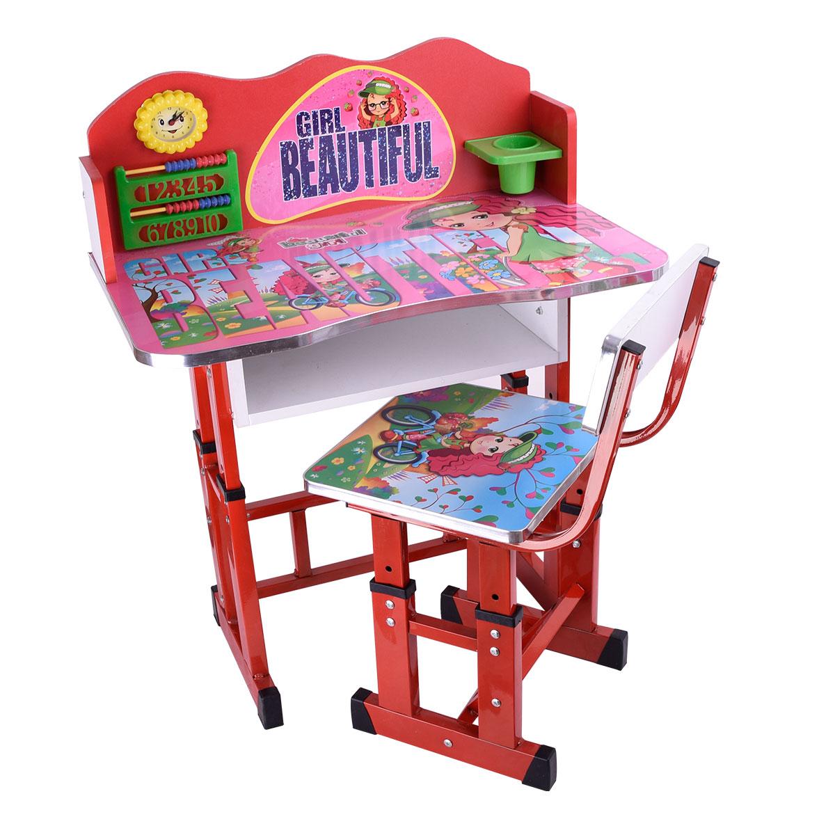 طاولة اطفال مدرسية خشب + كرسي , رقم 4042-039