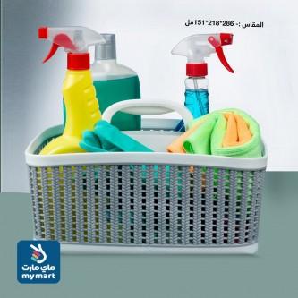 سلة بلاستيك متعدد الاستخدامات الوان متعددة