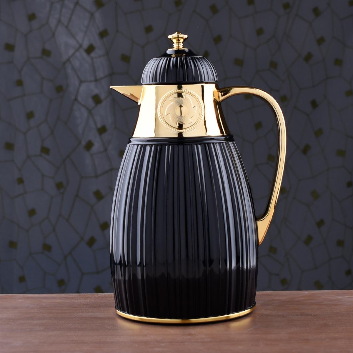 ترمس شاي وقهوة ديفا - DEVA - مقاس 1.0لتر - رقم K191564/1BK