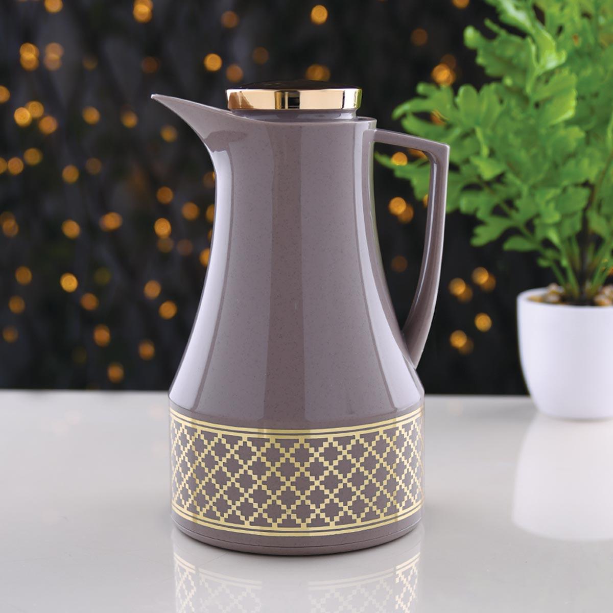 ترمس شاي وقهوة ديفا - DEVA - مقاس 1.0لتر - رقم  K190492/BR