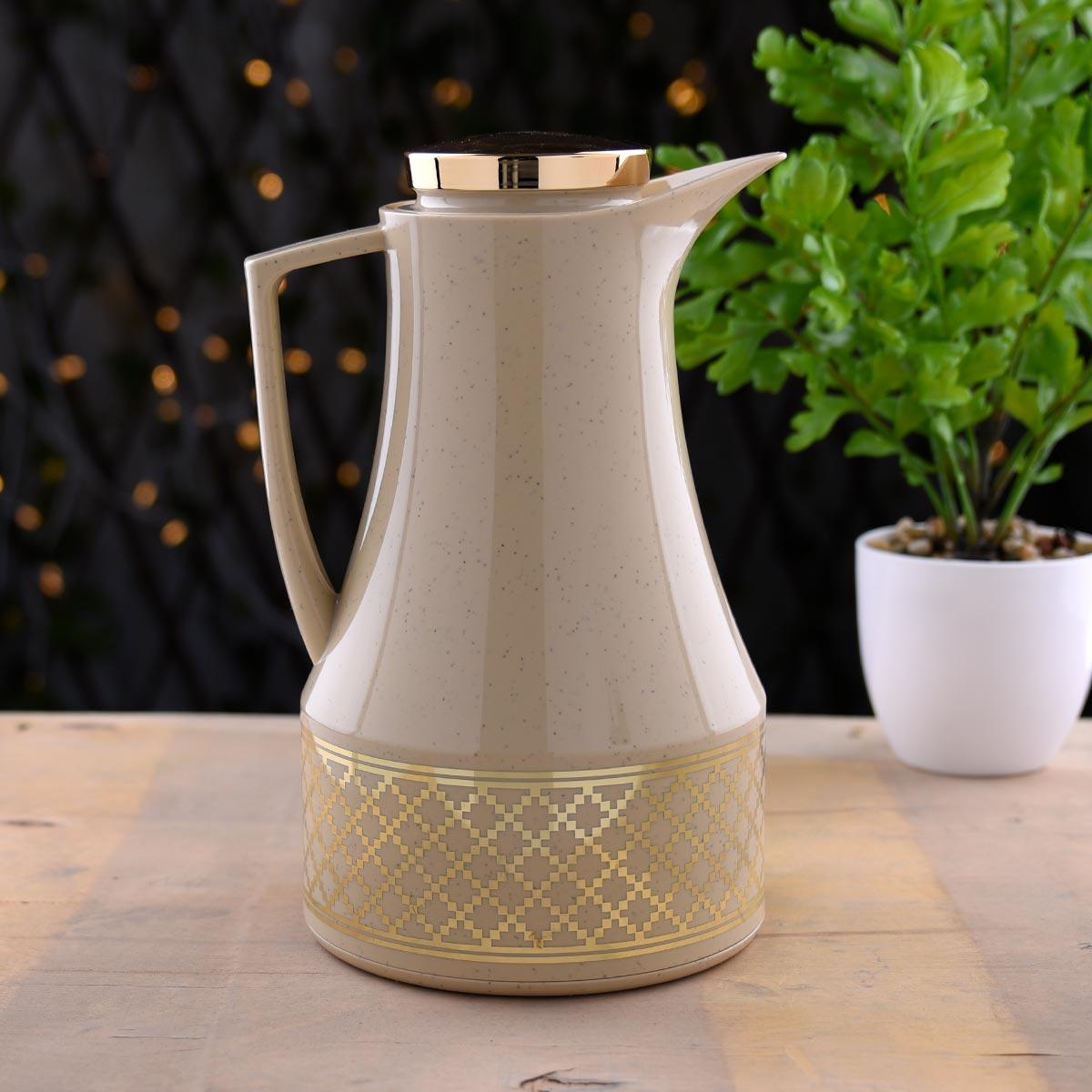 ترمس شاي وقهوة ديفا - DEVA - مقاس 1.0لتر - رقم K190492/GRBE