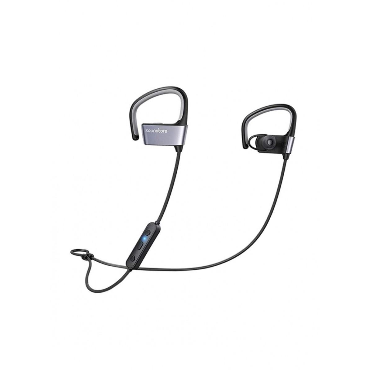 سماعة أذن داخلية لاسلكية أسود/رمادي 7x1.7x1.1 بوصة