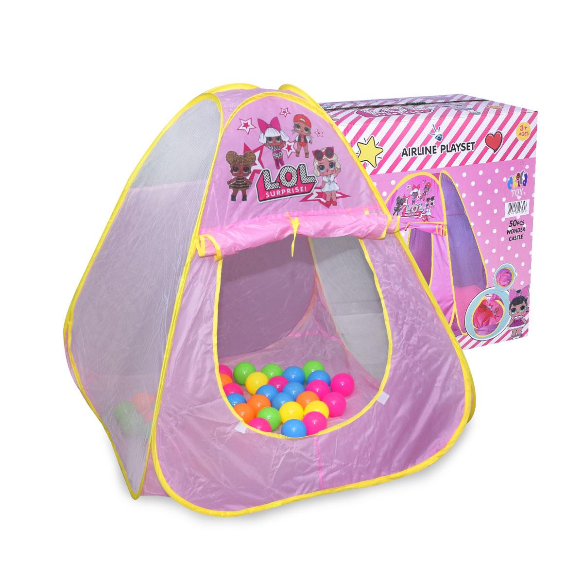 خيمة لعب الاطفال , مع كرات ملونة , رقم CH5661