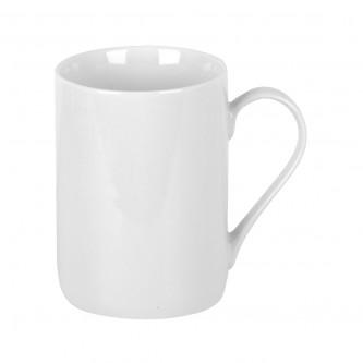 كوب سيراميك للقهوة , للشاي , للحليب , ابيض .