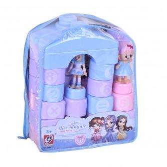 مكعبات  العاب تركيب للاطفال 31 قطعه رقم -DGL-600340