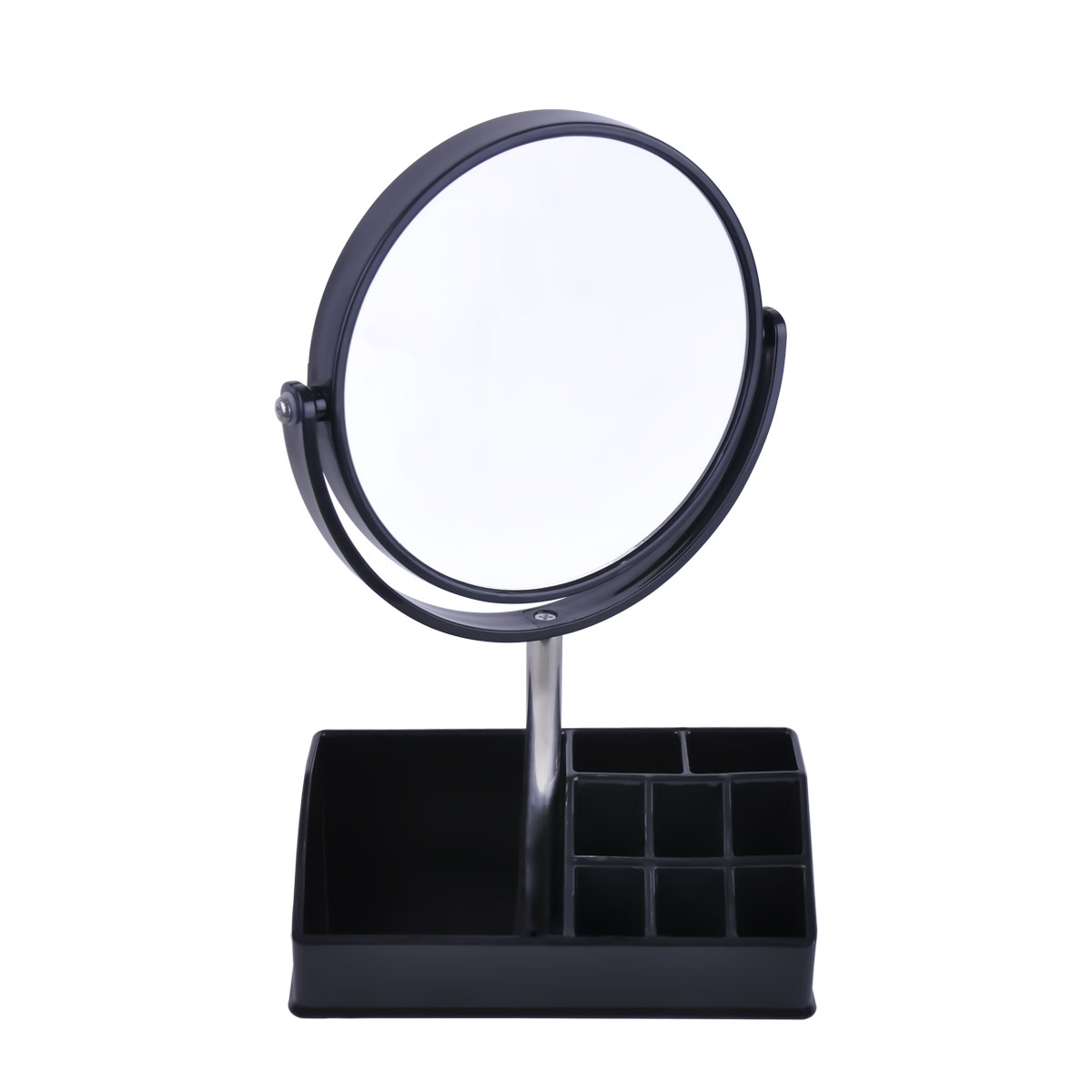 مرآة دائريه الشكل بستاند مكياج - موديل - 0550