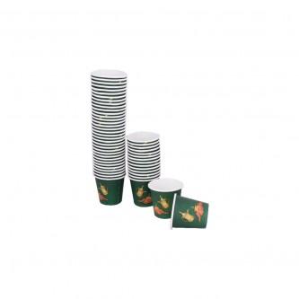 اكواب ورقية للاستخدام مرة واحدة - طقم 50 حبة 2.5 انز