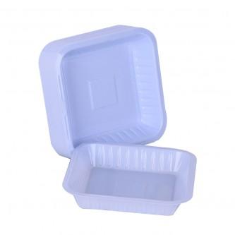 صحون بلاستيك الوطنية مربع - رقم 1 - 50 حبة