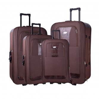 حقائب سفر بعجلات 4 قطع  رقم R-046
