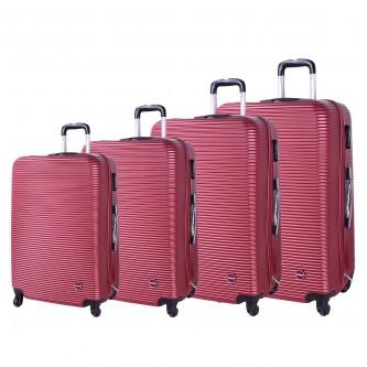 حقائب سفر بعجلات 4 قطع  رقم R-510
