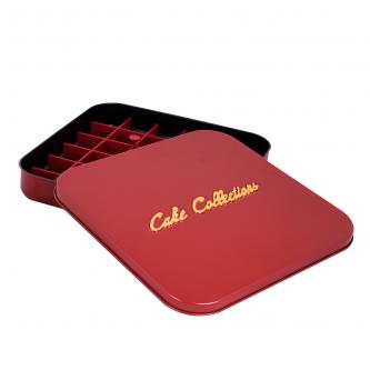 صواني فرن مقسم بغطاء , لون احمر , رقم 1800873