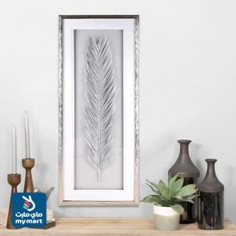 لوحة فنية جدارية لديكور المنزل ,لوحة معدنية مع اطار خارجي زجاج 710057