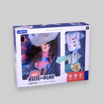 عروسة لعبة دمية للبنات مع اغراضها رقم DGL-600870