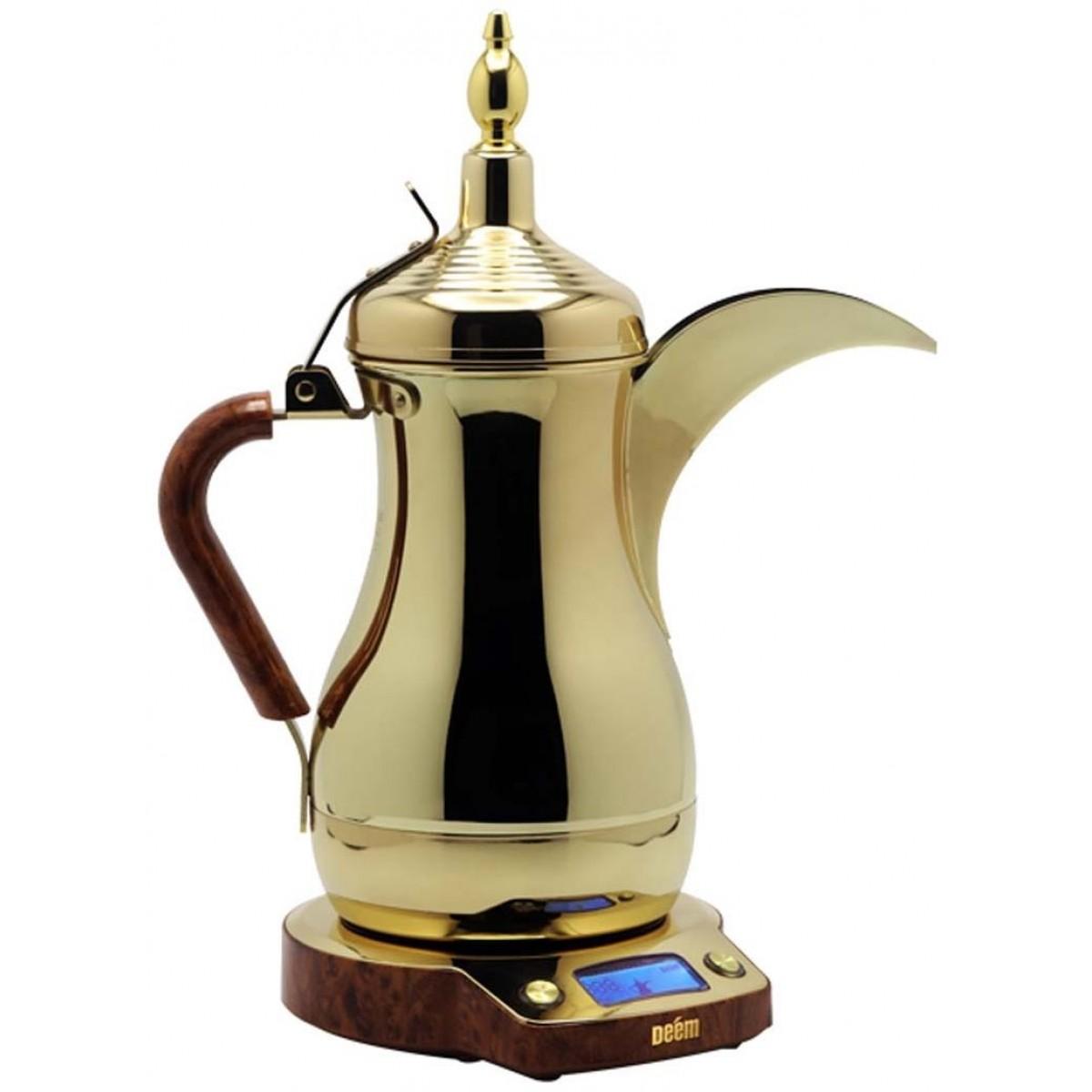 دله ديم الكهربائيه الذهبيه للقهوه العربيه 1000مل