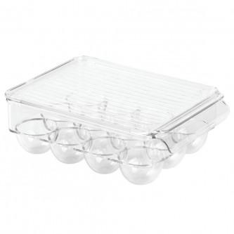 حافظة الثلاجة تخزين البيض حامل مستطيل YM-20752