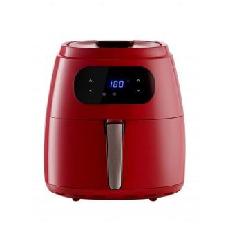 قلاية كهربائية صحية ديجتال 9 لتر بدون زيت ,1800 واط , اللون احمر ,AL7306