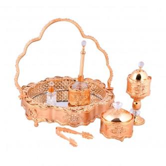 طقم العرائس الذهبي الأنيق ( مرش ) رقم 777819