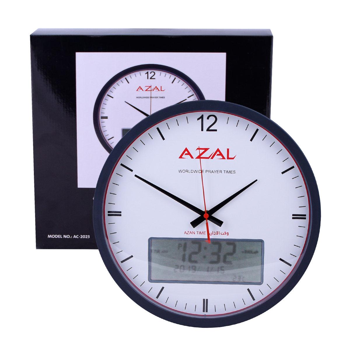 ساعة الاذان الاوتوماتيكية مع تحديد اتجاه القبلة AC-2023