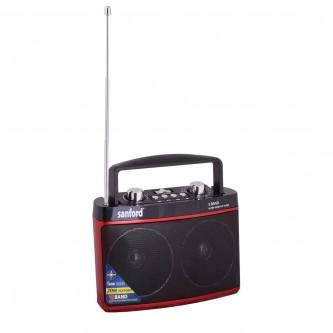 راديو قابل للشحن مع مشغل إم بي 3 , سانفورد موديل SF3307PR