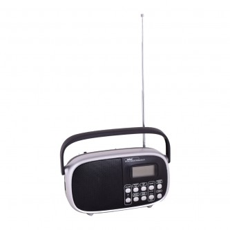 راديو قابل للشحن مع مشغل إم بي 3 , سانفورد موديل SF3308PR