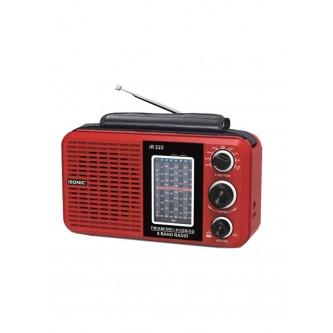 راديو قابل للشحن مع مشغل إم بي 3 , iSONIC موديل IR 222
