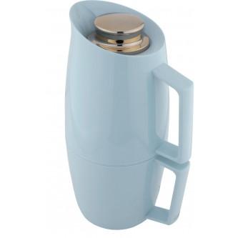ترمس شاي وقهوة ديفا - Deva - دورين 1لتر اخضر فاتح مذهب رقم K190493/LGNG