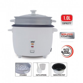 قدر كهربائي لطهي الأرز سعة 1.0 لتر SF2511RC-1.0L BS