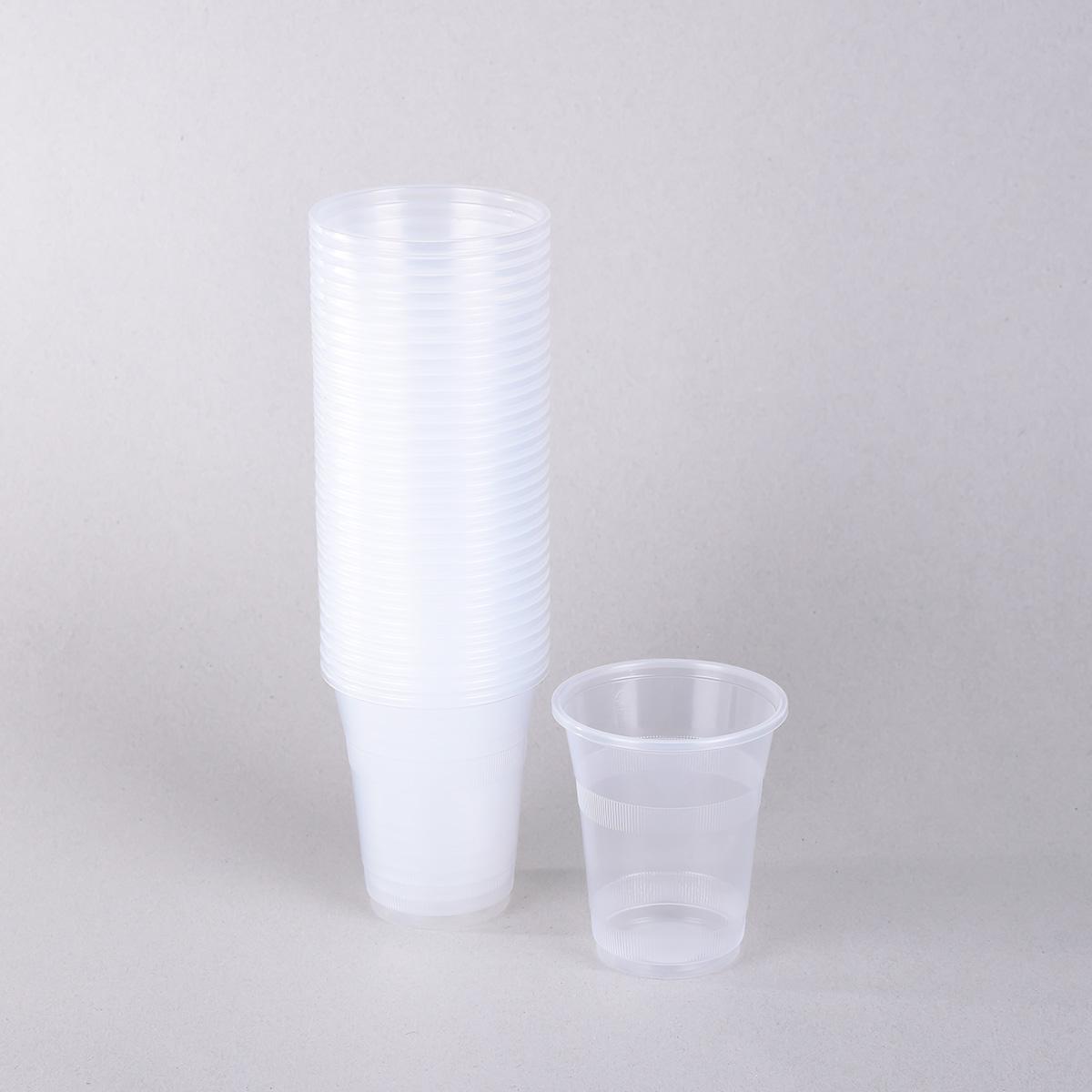 كاسات شفاف بلاستيك ، امارتي ،بغطاء ،من المتحده ،8 اونز ،50حبه