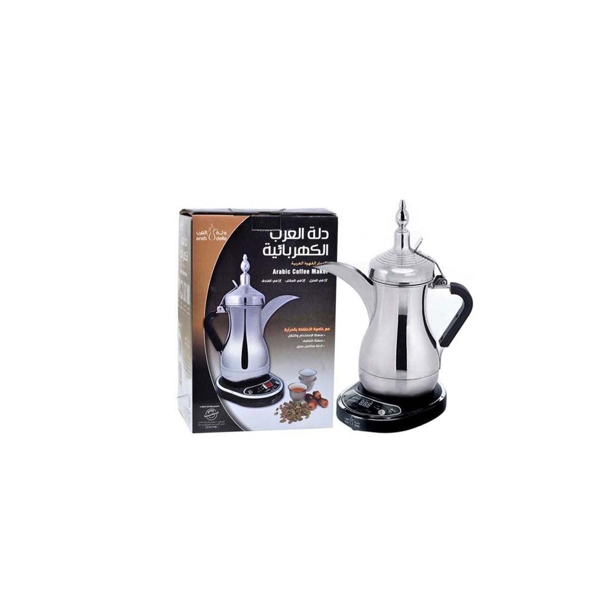 دلة العرب - صانعة القهوة العربية الكهربائية - 800 مل - 1000 واط