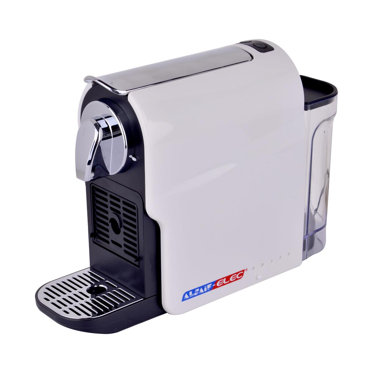 صانعة القهوة الكهربائية - اسبريسو كبسولات - من السيف اليك - 1350 واط