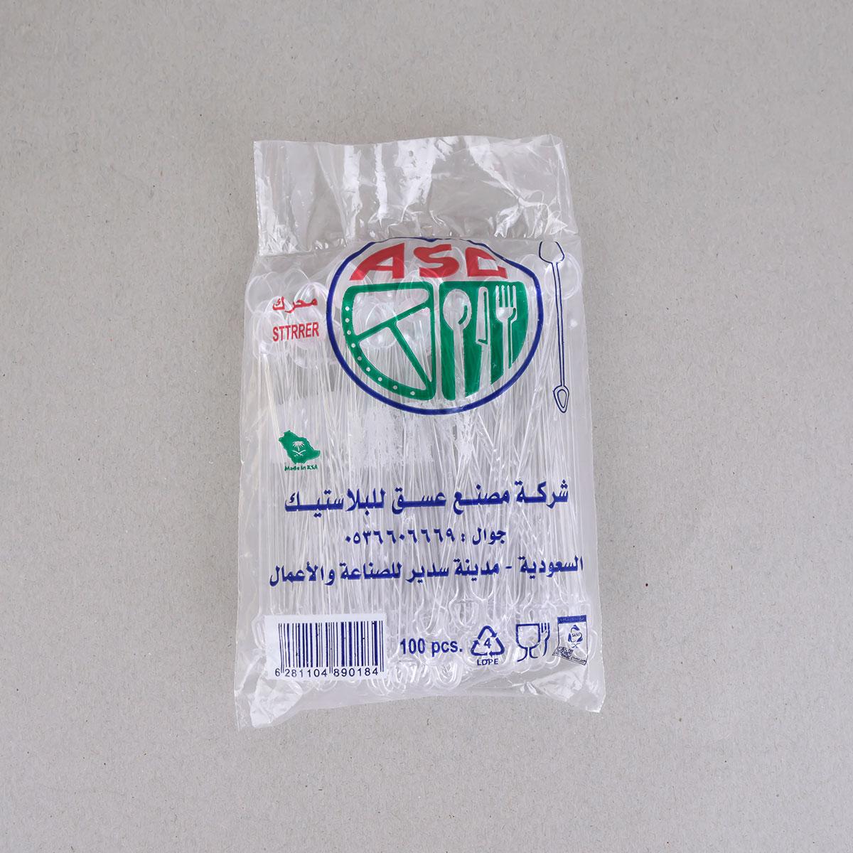 ملعقة  ,شاي , شفاف , موديل 107001